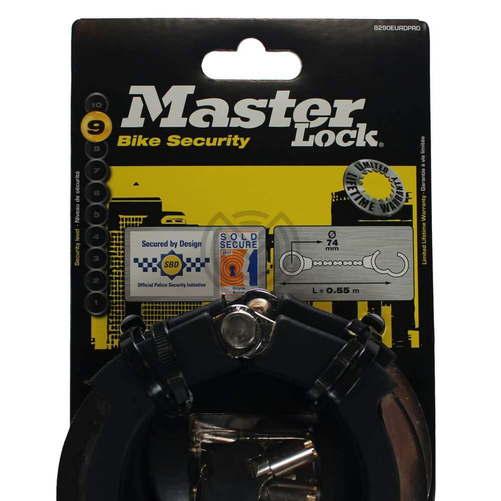 antivol trottinette electrique menottes masterlock