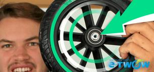 Comment changer les roulements de la roue arrière de votre ETwow ?
