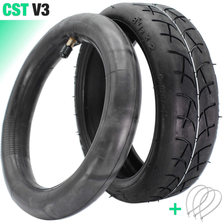 Kit pneu cst V3 renforcé trottinette électrique 8.5x2