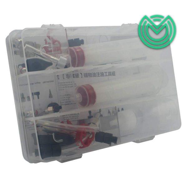 kit purge frein hydraulique trottinette jagwire
