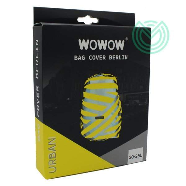 couvre sac fluo wowow berlin jaune