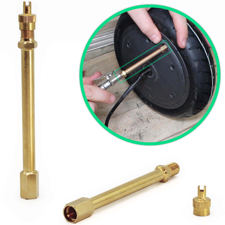extension de valve trottinette electrique