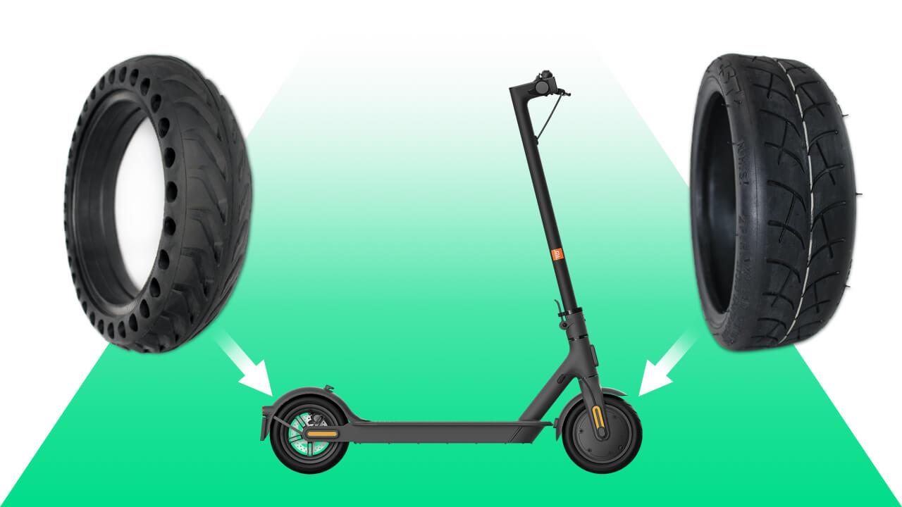 monter pneu plein xiaomi m365 Pro